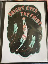 Bright Eyes The Faint Grand Olympic Los Angeles Tara McPherson Concert Poster