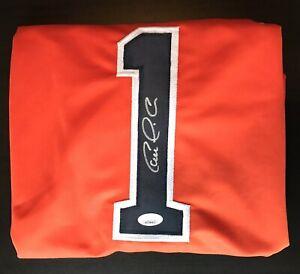 """CARLOS CORREA Signed Custom """"1"""" Jersey (JSA Holo) Houston Astros"""