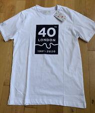 London Marathon 2020 New Balance White Map Tee T-shirt Running Top Size Large