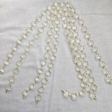 12mm 25 Pcs 4 Available Snowflake Flower Crystal Beads Chandelier Lamp Prisms