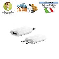 5 TRASFORMATORE ADATTATORE SPINA RETE ITALIANA 220V A USB PRESA IPAD IPOD IPHONE