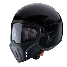 casco Caberg Ghost black negro brillante M casco capacete de casque helm moto