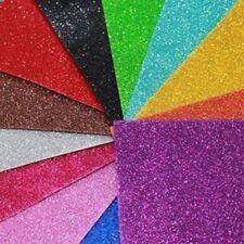 Kraftz ® Paillettes Eva craft mousse autocollante A4 Feuilles dans 10 différentes couleurs
