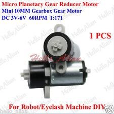 DC 3V 5V 6V 60RPM Micro 10MM Planetary Gearbox Gear Reducer Motor for DIY Robot
