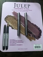 Julep Crème to Eyeshadow Stick Duo New Open Box Shipping Without A Box