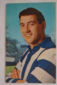 North Melbourne AFL-VFL Vintage 1964 Mobil Card Printed Autograph Barry Cheatley