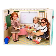 Our Generation Awesome Academy School Room Set Fits American Girl Doll COMPLETE