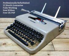 Olivetti Lettera 22 WORKING Vintage Portable Typewriter 1950s 32 REFURBISHED