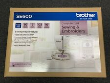 Brother Sewing Machine - SE600 - Computerized Sewing & Embroidery Machine - NEW