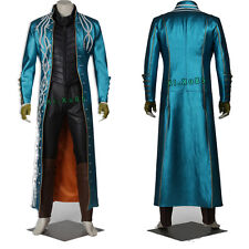 New Exclusive Devil May Cry 3 DMC3 Vergil cosplay Costume Original Suit Any Size