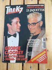 Musique - Télé K7 magazine - Clooney, Catherine Langeais, jaquette - N°765