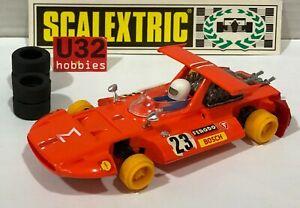 Scalextric exin C-4047 Sigma #23 Orange Excellent Etat