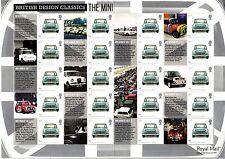 GB 2008 Smilers Sheet LS56 - British Design Classics: The Mini - Austin Morris