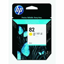 HP 82 Yellow Inkjet Cartridge CH568A, Genuine HP product [PROMO-CH568A]