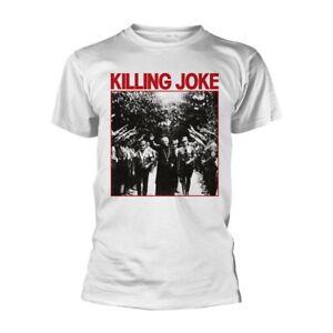Killing Joke - Pope Classic Design T Shirt (White Version) - NEW & OFFICIAL