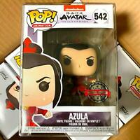 "Funko Pop Avatar : AZULA #542 Vinyl Figure Special Edition Exclusive ""Mint Box"""