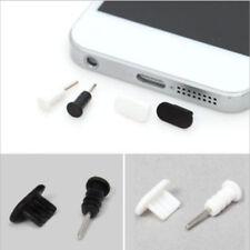 20x Silicone Anti Dust Cap Earphone Plug Black+White Stopper for iPhone5-6s plus