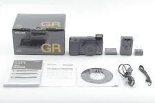 【Top Mint in Box】 RICOH GR II 16.2MP Black Wi-Fi Digital Camera From Japan 19196