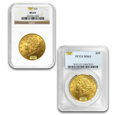 SPECIAL PRICE! $20 Liberty Gold Double Eagle MS-63 PCGS/NGC (Random)