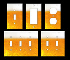 BEER BUBBLES Light Switch Covers Home Decor Outlet MULTIPLE OPTIONS