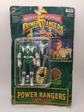 Vintage Mighty Morphin Power Rangers Auto Morphin Tommy Green Ranger 1994 Sealed