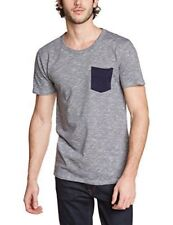 "Selected Homme Indiana T Shirt, Grey/Navy, Small 38"", BNWT"
