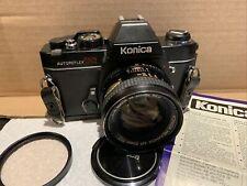 Konica Autoreflex TC   With   Hexanon AR   50MM   F1.7 Lens