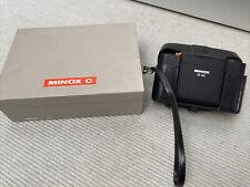 Kleinbildkamera MINOX 35ML ( Analog) Mit OVP und  Leder Bereitschaftstasche