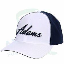Adams Tour cap modelo Cross Town blanco/Navy luz factor de protección 25+
