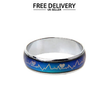 Unisex MOOD RING Colour Changing Emotion Ring Party Gift Favours UK Seller