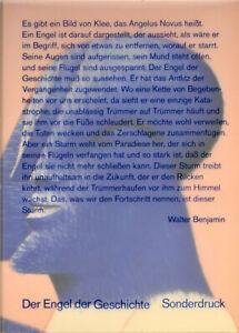 HAP Grieshaber: Der Engel der Geschichte. Sonderdruck Wachholderengel (1974).