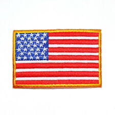 American USA Flag Sports Military Team Elbow Emblem Clothes Jacket Iron on Patch