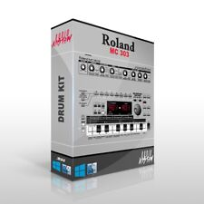 Roland MC 303 Drum Kit Samples MPC Maschine Sounds DOWNLOAD Trap Hip Hop WAV