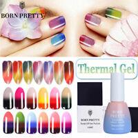 BORN PRETTY 10ml Thermal 3 Layers UV Gel Polish Colorful Nail Art Gel Varnish
