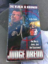 Judge Dredd (VHS, 1995) Action Future Steam Punk Hacker