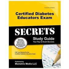Certified Diabetes Educator Exam Secrets Study Guide : CDE Test Review for...