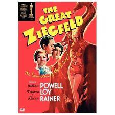 THE GREAT ZIEGFELD - WILLIAM POWELL, MYRNA LOY 1936 (DVD, 2004) B&W NR FS