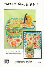 Scrap Sack Plus  Sewing Pattern by Mary Girsch of Oceanlake Designs
