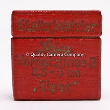 Leica ELPET (3*) - VINTAGE CLOSE-UP LENS f/50MM ELMAR - LEITZ 'BEOOY' EXCELLENT