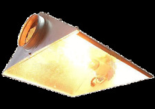 Radiant 5 in. Air Cooled Reflector w Glass Hydroponic