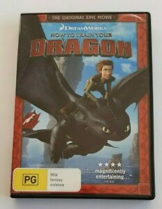 How to Train Your Dragon  Kids PAL DVD R4 VGC