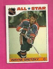 1985-86 TOPPS # 2 OILERS WAYNE GRETZKY AS STICKER EX CARD (INV# C2934)