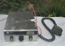 Vintage Johnson Messenger 123A Cb Radio With Mics