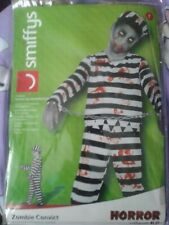 Boys Zombie Convict  Party Costume, New in packet, Teenager size 13 plus