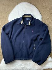 Vintage Polo Ralph Lauren Fleece Bomber Zip Jacket  Polartec