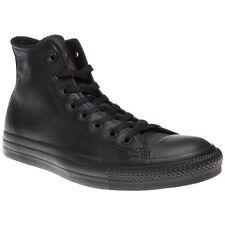 Converse Ct 135251c Hi Leather Black Unisex Trainers UK 10
