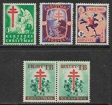 SOUTH AFRICA 1946-49 Christmas Labels MH/*
