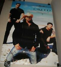 Rolled 2002 Funky Posters # 3544 Creed Christian Band Pinup Poster 22 x 34