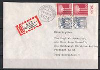BRD, Einschreiben MiNr. 913 + 1135 TSt Langenenslingen 08.06.1988