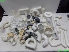 MIXED LOT OF PVC PIPE FITTINGS MIXED SIZES, TYPES, FITTINGS